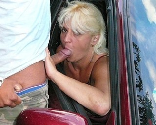 This mature slut just loves sucking cock